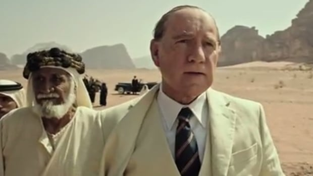 Kevin Spacey appears in a scene from the trailer of Ridley Scott's upcoming film All the Money in the World. Scott plans to remove Spacey from the finished film and replace him with a performance by Christopher Plummer.