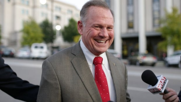 An Alabama woman says Roy Moore, the Republican nominee for the special Senate election on Dec. 12, made inappropriate advances and had sexual contact with her when she was 14, according to the Washington Post.