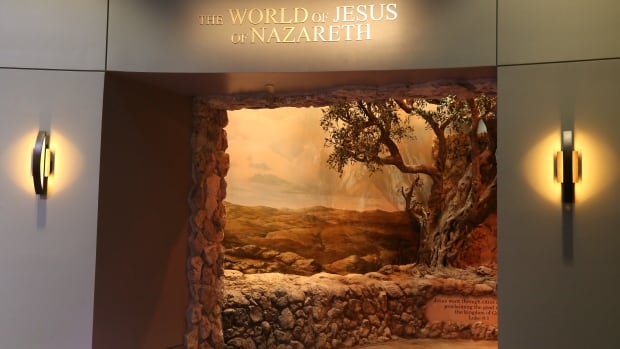 A walk-through exhibit in the Museum of the Bible invites visitors to wander through Jesus's Nazareth village. When the museum opens, actors wearing ancient Israeli garb will interact with patrons.