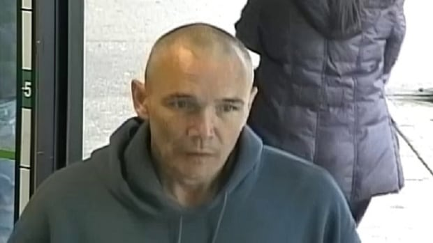 Dean Zastowny, 47, is described as Caucasian, six feet one inch tall, with a medium build and blue eyes. He's wanted in Burnaby and Abbotsford for alleged bank robberies and is considered to be armed and dangerous.