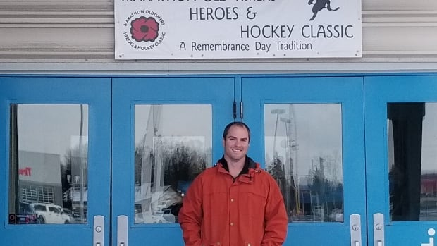 Kris Skworchinski is one of the organizers of the first annual Heroes & Hockey Classic, taking place this Remembrance Day weekend in Marathon, Ont.