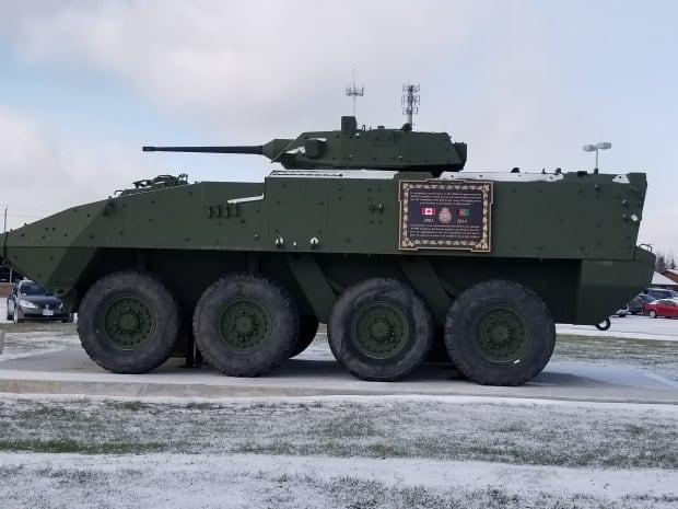 Marathon LAV vehicle