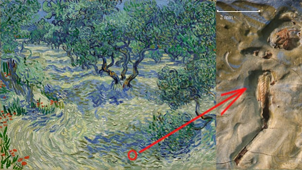 """Vincent van Gogh's painting """"Olive Trees"""""""