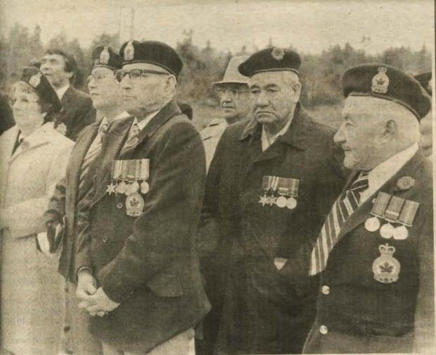 Membertou war memorial