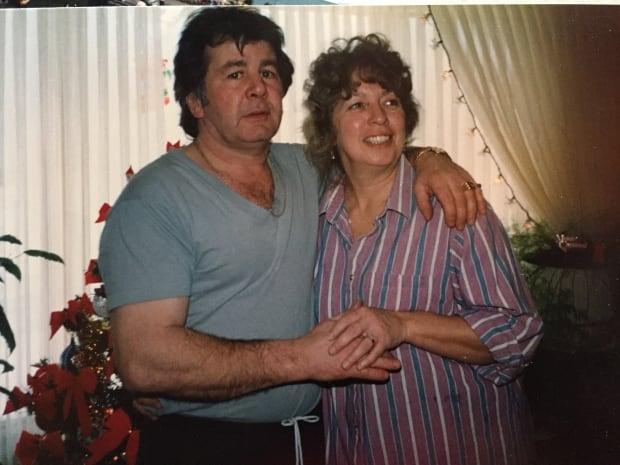 Allan and Wanda Leschyshyn on their engagement day