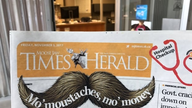 The final edition of the Moose Jaw Times-Herald will print on Dec. 7, 2017.