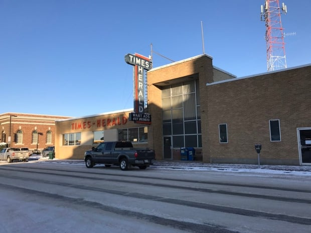 Moose Jaw Times-Herald office