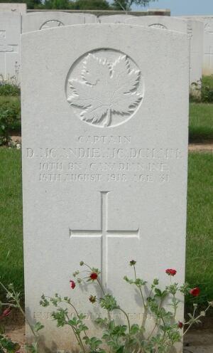 Capt. David McAndie - World War 1