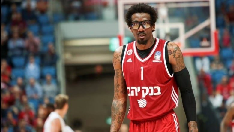 Hoops in the Holy Land: African-American basketball players