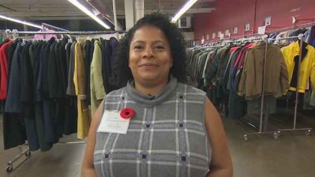 New Circles clothing program co-ordinator Kathleen Nicoll says with up to 30 winter coats in stock and upwards of 150 people looking for jackets every day, the organization is having to turn refugees away.