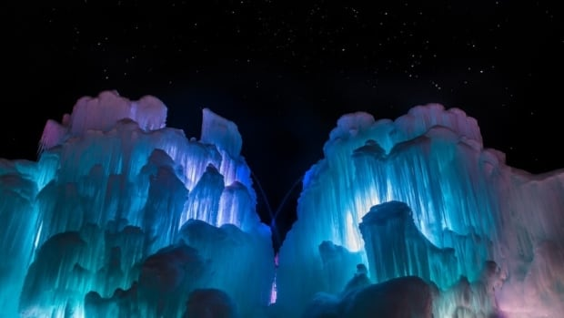 Utah-based Ice Castles is bringing their ice artisans to The Forks to build towering structures of frozen water surrounding coloured LED lights, to create a winter fantasy land.