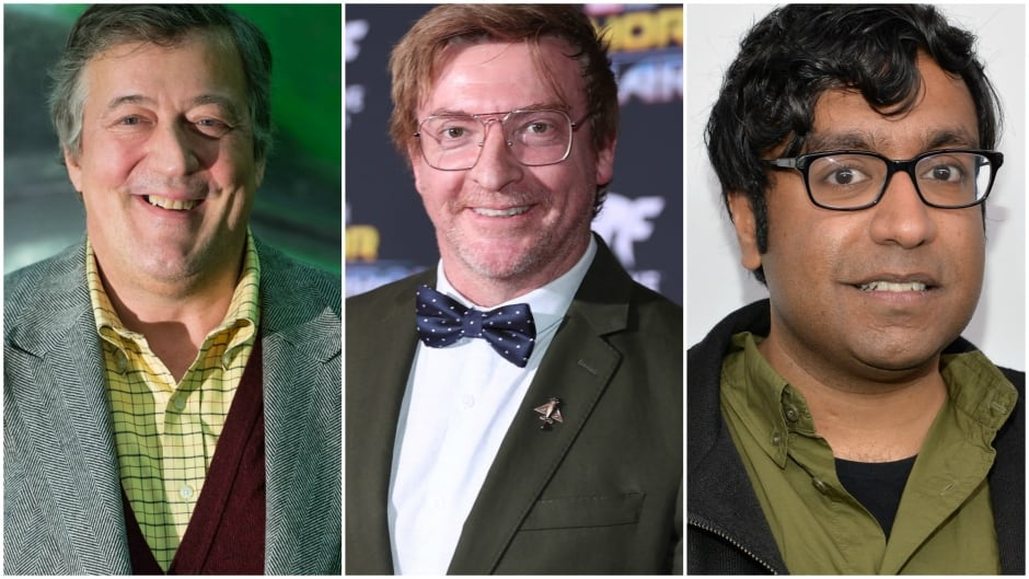 Today on q: actor Stephen Fry, comedian Rhys Darby and comedian Hari Kondabolu.