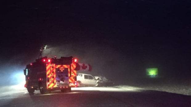 Police is looking for witnesses to the Thursday evening crash on Wellington Road 109, east of Arthur.