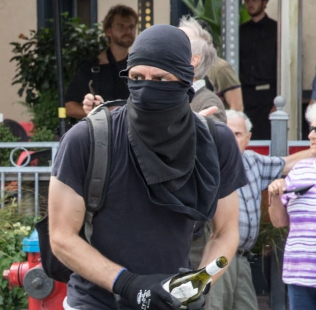 Suspect in right rally