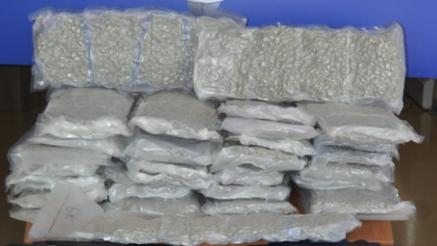 Police seized this marijuana from a suitcase in a St. John's hotel room in May, 2015, as well as more than $4,000 cash.