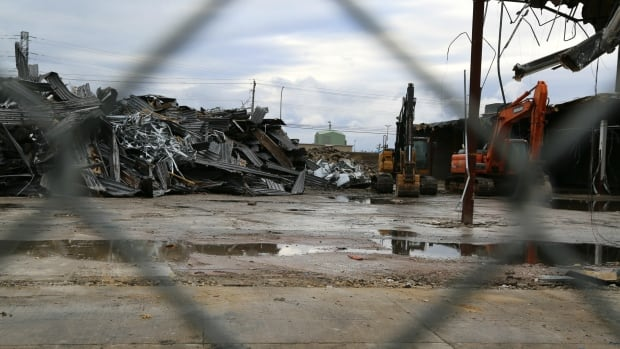 For weeks, construction crews have been busy demolishing the old Target building in Fredericton and making room for a new Sobeys.