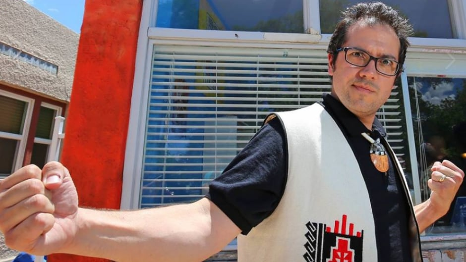 Lee Francis is the creator of Indigenous Comic Con in Albuquerque, New Mexico. He is also the man behind Native Realities, the Indigenous comic publisher