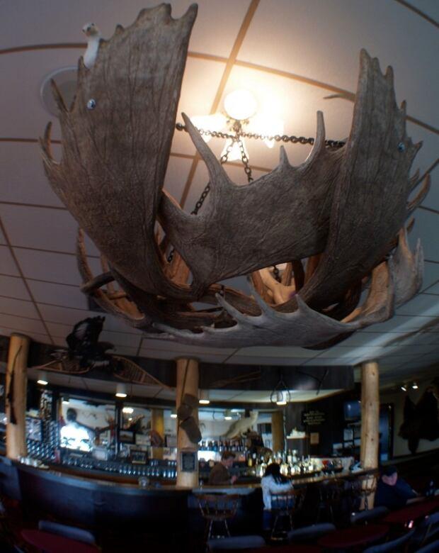 Eagle Plains Hotel Bar