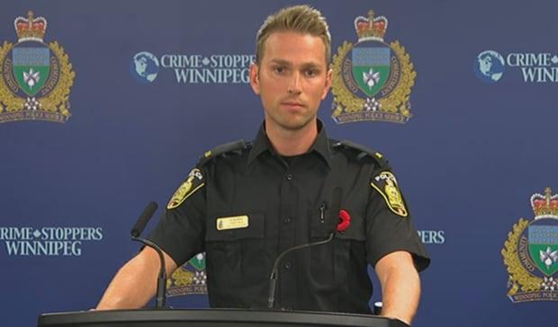 Winnipeg Police Const. Jay Murray