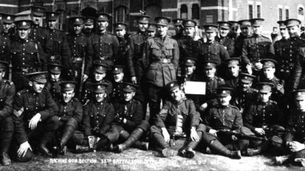 Members of the 38th Battalion were recruited in Ottawa and served in many battles during the First World War, including the battle of Passchendaele.