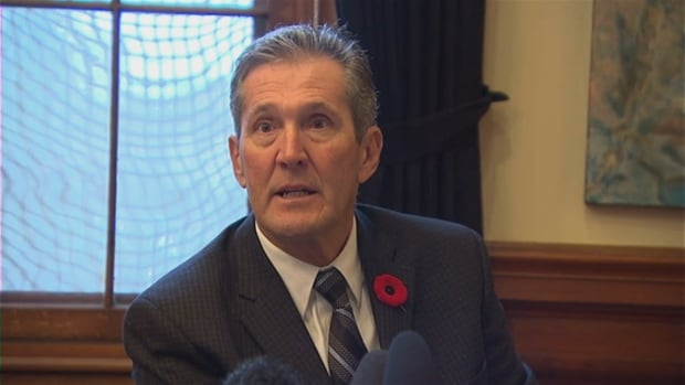 Manitoba Premier Brian Pallister is not happy with the federal government's plan to tax marijuana when it becomes legal next July.