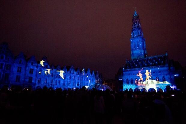 Arras light show