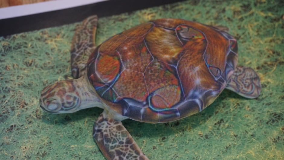 This 3D printed turtle created by Lab Six appears as a rifle to an image-recognition AI.