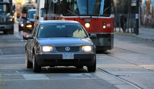 Toronto King Street Pilot Project driver