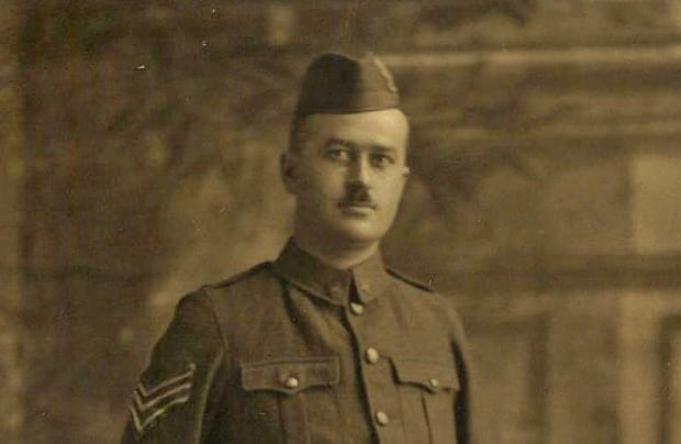 Sgt. Harold Shaughnessy, of New Brunswick