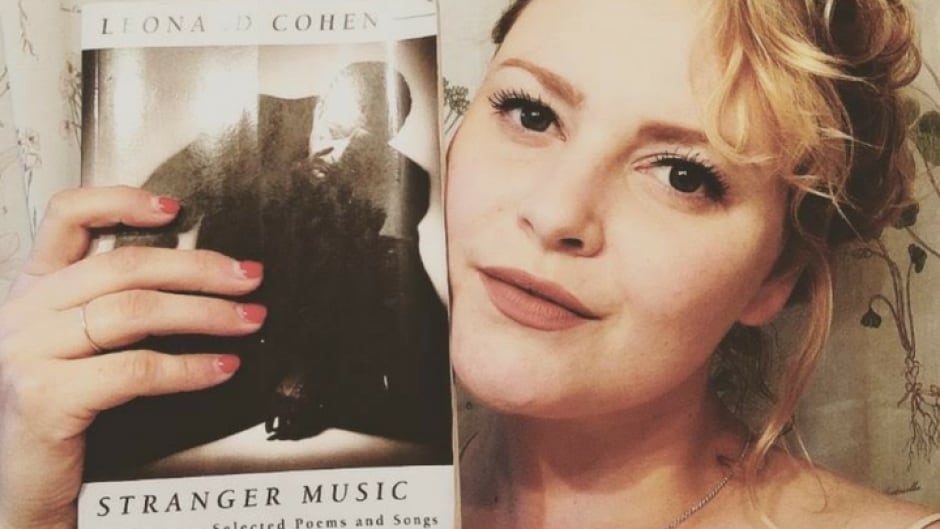 Singer-songwriter Stefanie Blondal Johnson finds inspiration in Leonard Cohen's poetry collection Stranger Music.