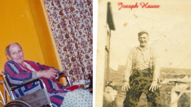 Joseph Hawse, pictured here at different stages of his life, spent decades trying to prove he fought in the First World War.