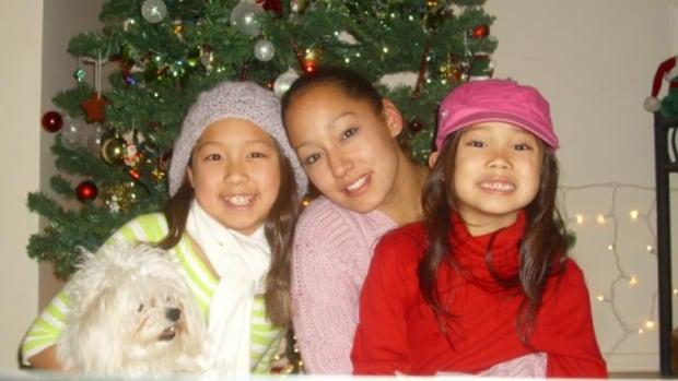 Natasha Thompson poses with Hana and Miyoko in this photo from 2009.