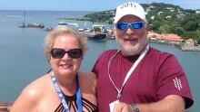 Rick and Joan Hughes WestJet San Juan cruise