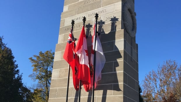 Remembrance Day Services will happen at the Cenotaph in Victoria Park on Saturday staring at 10:45 a.m.