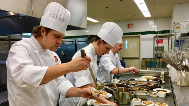 More than 8,500 square feet of redesigned kitchen space has been added as part of the renovation and expansion to the Culinary Institute of Canada.