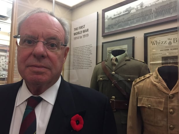 Dan Mackay Honorary Lieutenant-Colonel, Cameron Highlanders of Ottawa