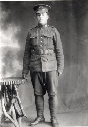 Sgt. Robert Percy Barr of Oxford Mills