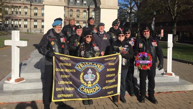 Members of the UN-NATO veterans group in Halifax fundraised to send