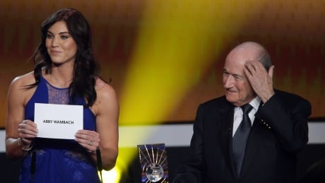 Sepp Blatter denies Hope Solo's sexual assault allegation as 'ridiculous'