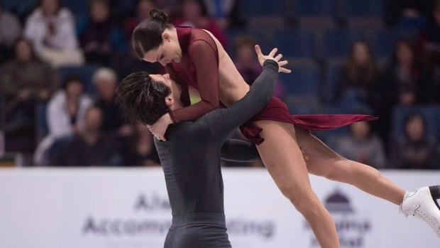 Canada's Tessa Virtue and Scott Moir finished with a 198.64 to win the NHK Trophy in Osaka, Japan on Saturday.