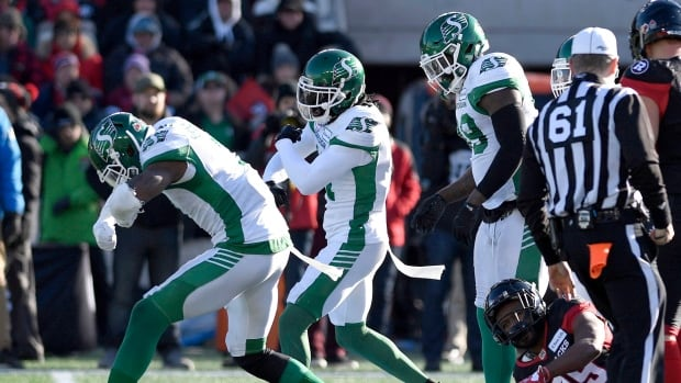 The Ottawa Redblacks will not have a chance to make a third-straight appearance in the Grey Cup after losing to the Saskatchewan Roughriders in Ottawa on Sunday. The Grey Cup will be held in Ottawa on Nov. 26.
