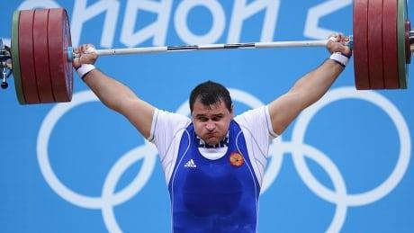 Ruslan Albegov Russia Weightlifting Doping