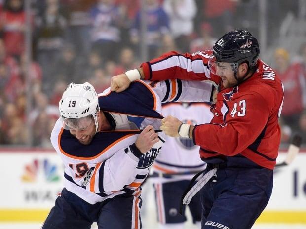 Oilers Capitals Hockey