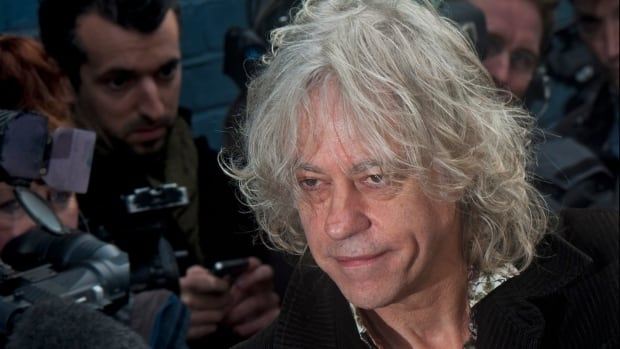 Bob Geldof, the founder of Live Aid, returned Monday the Freedom of Dublin award that Myanmar leader Aung San Suu Kyi also received because she's a 'handmaiden to genocide' whose association with Ireland's capital 'shames us all.'