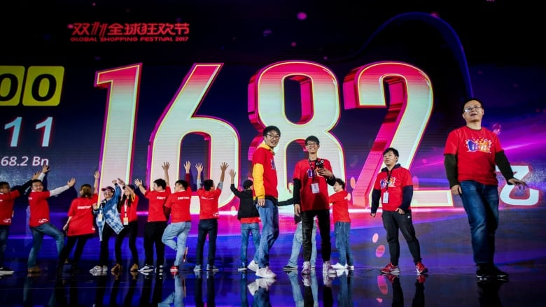 Alibaba sells more than $25B US on 'Singles Day,' more than Black Friday & Cyber Monday