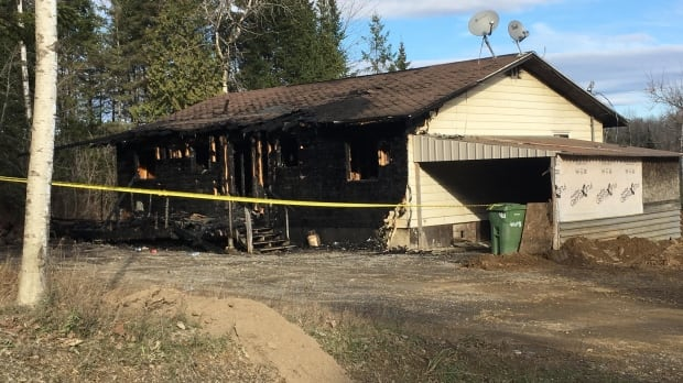 tobique-house-fire 5 friends rescue father, son from burning house at Tobique First Nation