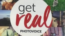 Get real photovoice campaign