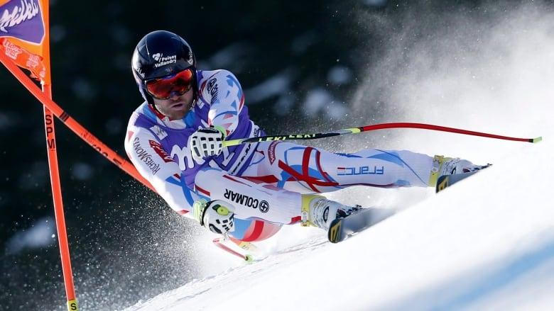 French downhill skier David Poisson dies after training crash at Nakiska