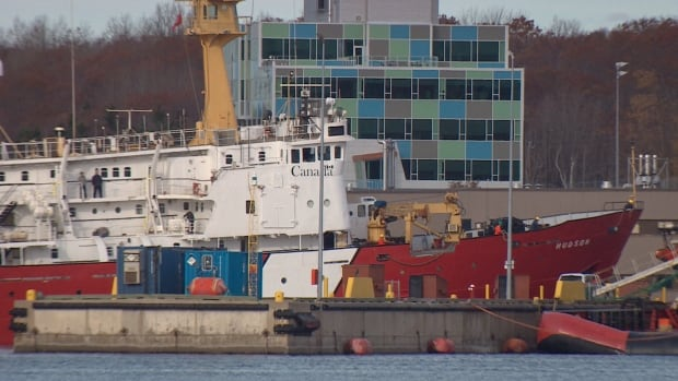 The CCGS Hudson is now docked at the Bedford Institute of Oceanography in Dartmouth, N.S.