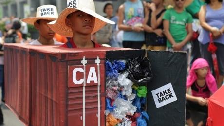 Philippines Canada Waste